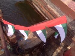uae national flag bunding