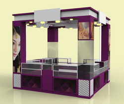 Kiosk design UAE from COLOURS ALUMINIUM & GLASS LLC
