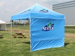 tents  and gazebo shades with back drops from CLOUD COMMUNICATIONS FZE