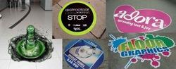 sticker floor graphics