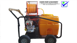 SPRAY PUMPS WITH 100 LTR TANK from LEADER PUMPS & MACHINERY - L L C