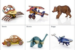 art and craft puzzle toys
