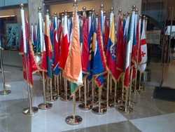 conference flags presidential flags