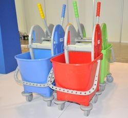 Color Coded Mop Buckets In UAE