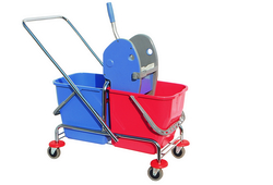 Double Mop Buckets Metal Frame In UAE