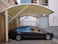 RESIDENTIAL VILLA CAR PARKING SHADES IN SHARJAH from UMAIR TENTS & SHADES 00971557781265