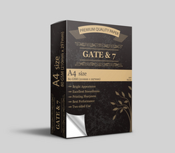 A4 Paper Gate & 7 from FAR WAY GENERAL TRADING LLC