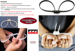 Nylon Handcuffs  from SALIS PLASTIC CO LLC