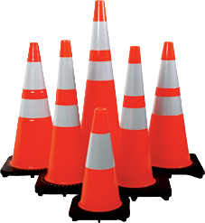 Traffic Cones in UAE from SPARK TECHNICAL SUPPLIES FZE