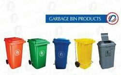 Color Coded Garbage Bin In GCC