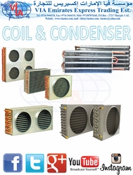 REFRIGERATOR COIL & CONDENSER كويل/ مبخر ثلاجة  from VIA EMIRATES EXPRESS TRADING EST