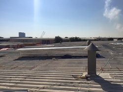 Roof cladding UAE from WHITE METAL CONTRACTING LLC