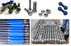 BOLTS & NUTS STUD BOLTS ANCHOR BOLTS WASHERS from AL JAZEERA BOLTS INDUSTRIES LLC