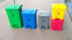 Color Coded Garbage Bin In GCC