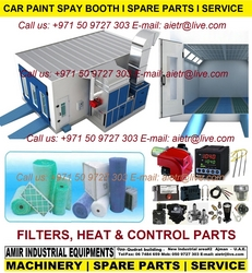 Paint booth Filter parts Service in Dubai UAE from AMIR INDUSTRIAL EQUIPMENTS