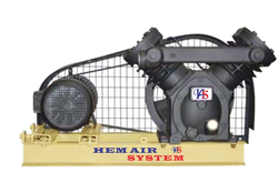 Single & Two Stage Air Cooled Dry Vacuum Pump from HEM AIR SYSTEM