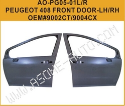 Front Door For Peugeot 408 Auto Kit OEM=9004CX from YANGZHOU ASONE IMPORT&EXPORT CO.,LTD.