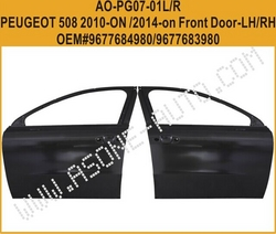 Front Door For Peugeot 508 Auto Kit OEM=9677683980 from YANGZHOU ASONE IMPORT&EXPORT CO.,LTD.