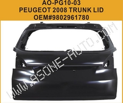 AsOne Tail Gate For Peugeot 2008 Metal Body Parts from YANGZHOU ASONE IMPORT&EXPORT CO.,LTD.