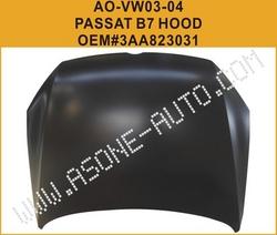 AsOne VW PASSAT B7 Hood/Bonnet OEM=3AA823031 from YANGZHOU ASONE IMPORT&EXPORT CO.,LTD.