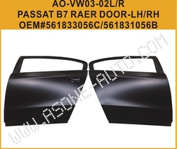 AsOne VW PASSAT B7 Rear Door Shell OEM=561833056C from YANGZHOU ASONE IMPORT&EXPORT CO.,LTD.