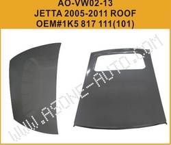AsOne China-Made VW JETTA A5 Roof Panel from YANGZHOU ASONE IMPORT&EXPORT CO.,LTD.