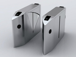 Flap Gates with Smart card reader in Dubai.