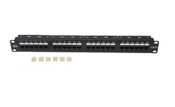 Patch Panel 24 port CAT-5e UTP RJ-45 - Infilink from SYNERGIX INTERNATIONAL