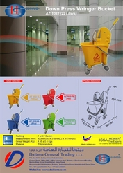 Single Mop Buckets Trolleys Suppliers In UAE