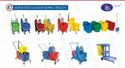 Double Bucket Wringer Trolley Supplier In UAE