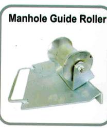 MANHOLE GUIDE ROLLER