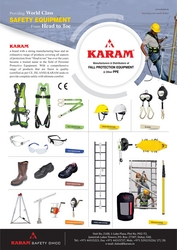 FALL ARREST suppliers in uae from KARAM SAFETY DMCC