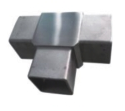 Stainless Steel Square Tee from SAFARI METAL TRADING LLC