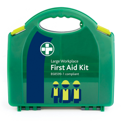 BS8599-1 Large Workplace Kit  in Green/Green Integ from ARASCA MEDICAL EQUIPMENT TRADING LLC