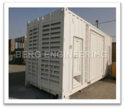 GENERATOR ENCLOSURES IN UAE from BERG ENGINEERING CO LLC