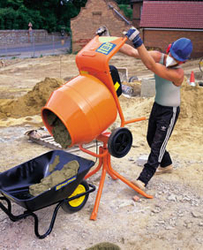 PORTABLE WHEEL BARROW CONCRETE MIXER