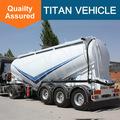 Tri-axle v type silo bulk cement tank semi trailer
