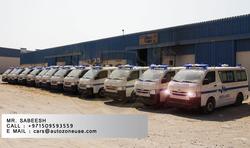 TOYOYA HIACE VAN AMBULANCE  from AUTOZONE ARMOR & PROCESSING CARS LLC