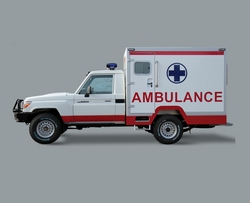 LAND CRUISER HZJ79 PICKUP AMBULANCE from AUTO ZONE ARMOR & PROCESSING CARS LLC