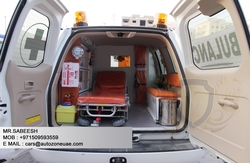 AMBULANCE MANUFACTURER IN DUBAI  from AUTOZONE ARMOR & PROCESSING CARS LLC