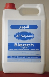 Bleach Liquid 4x5L from  AL NOJOOM CLEANING EQUIPMENT LLC