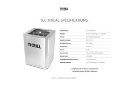 SANITATION MACHINE THRILL VORTEX F-PRO SUPLIER IN from VITAMINA DWC LLC