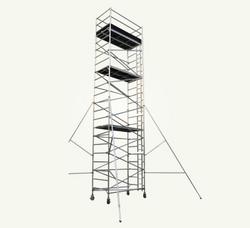 Aluminum Scaffolding Double Width Tower from AL BAWADI METAL INDUSTRIES LLC