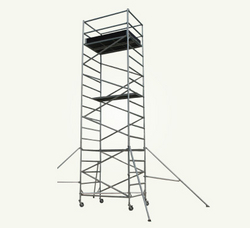 single width scaffolding tower from AL BAWADI METAL INDUSTRIES LLC