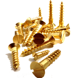 Brass wood screws in Dubai from NITHI STEEL INDUSTRIES LLC