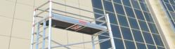 Aluminium Mobile Tower Single Width from ACE ALUMINIUM SCAFFOLDING