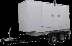 Perkins Mobile Generator in abudhabi