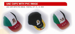 UAE Caps with PVC Image Supplier In Dubai from SUPER SONIC FASHION