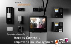 Access Control System from AL NABOODA INTERIORS L.L.C.
