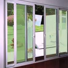 Glass doors from DOORS & SHADE SYSTEMS